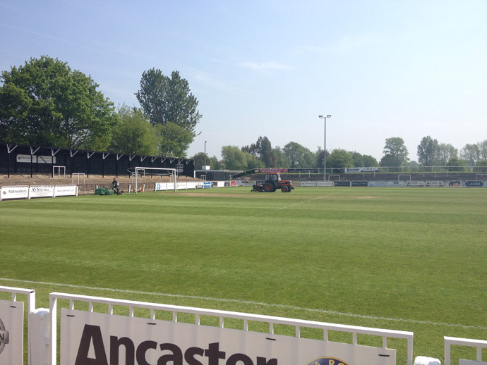 Bromley Football Club Pitch Renovation